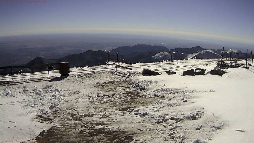 PikesPeakWebcam101017