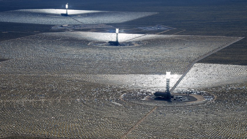 Ivanpah grid - Getty