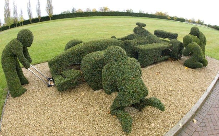 F1 Topiary pinterest
