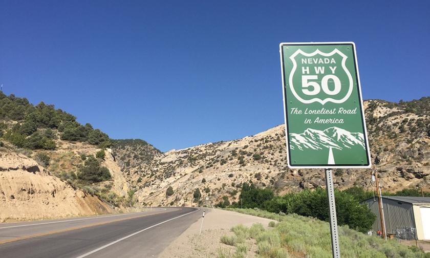 Highway50-LoneliestRoad doityourselfrv