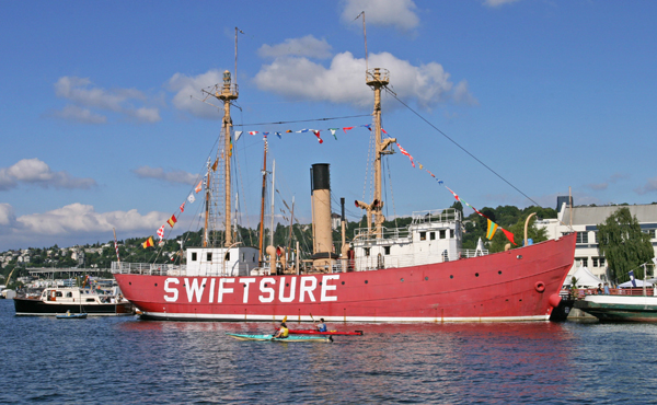 Swiftsure Lightship lighthousefriends