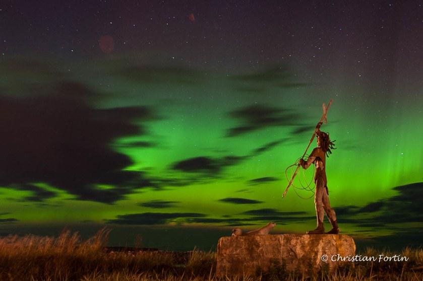 Aurora Borealis lanse au griffon